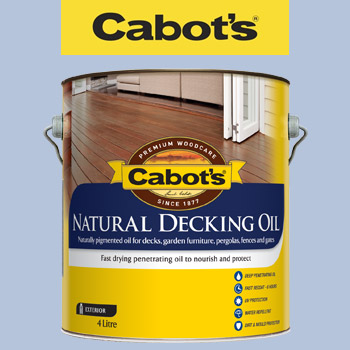 Cabot S Natural Decking Oil Review